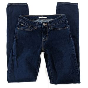 Levi's 712 Slim Skinny Jeans Dark Wash sz 27